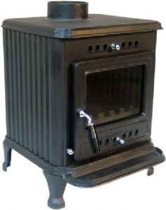 POPLAR MULTI FUEL STOVE (PLAIN DOOR) EST406P